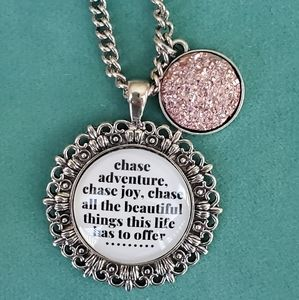 Plunder Inspirational Necklace